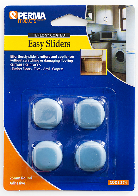 Self Adhesive Easy Sliders Surface Savers Perma Products