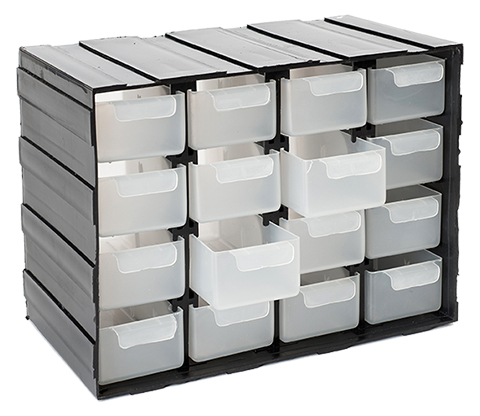 16 Drawer Utility Box Tool Boxes Amp Storage Perma Products